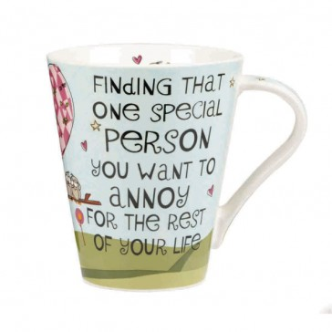The Good Life Finding that one special person flight mug
