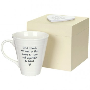 Good Friends Mug in Wooden Box