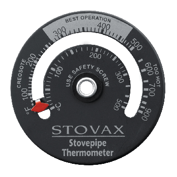 Stovax Magnetic Flue Pipe Thermometer