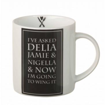 Delia Porcelain Mug