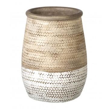 Ceramic Weave Vase