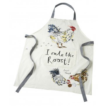 ' I Rule the Roost ' Cotton Apron
