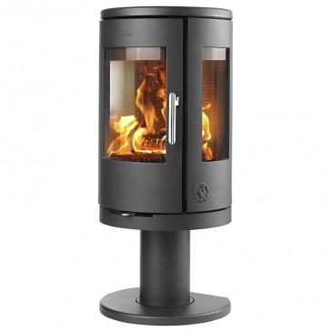 Morso 7448 Wood burner on pedestal