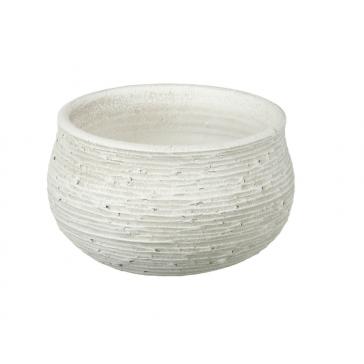 Parlane Crete Ceramic White Planter Pot