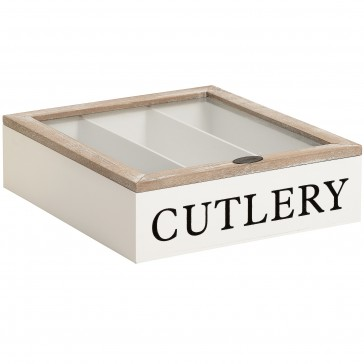 Country Cutlery Box