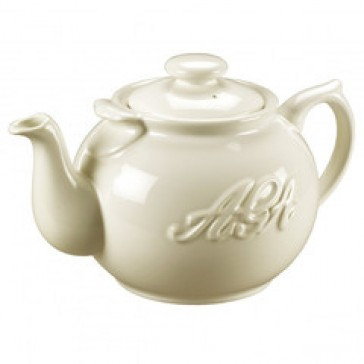 AGA Cream Teapot