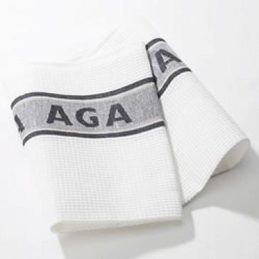AGA Tea towel in Black