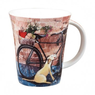 Alex Clark Flirt Bicycle Mug