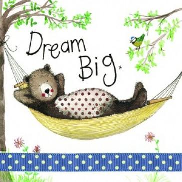 Alex Clark Dream Big Large Sparkle Card