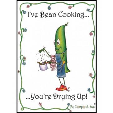 Bean Cooking Teatowel