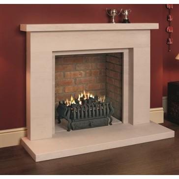 Beckford Portuguese Veined Limestone Fireplace