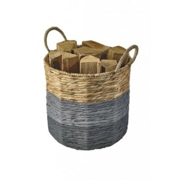 Seagrass Belle-Ile Coloured Log Basket by Dixneuf