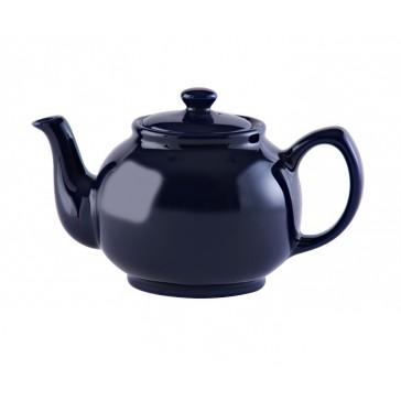 6 cup Midnight Blue Stoneware Teapot