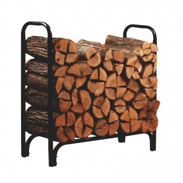 Metal Framed Log Rack (4' long) - 23109