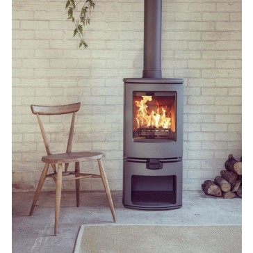 Charnwood Arc Stove on Storestand