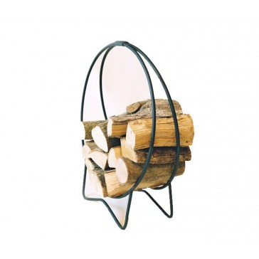 Charnwood Bodj Metal Hoop Log Log Holder