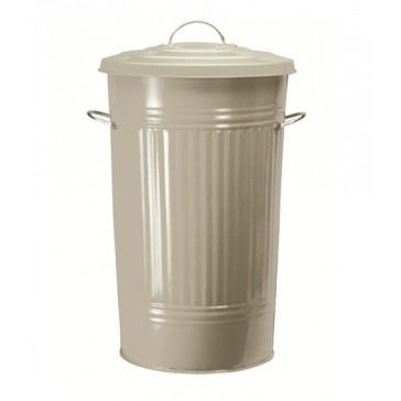 Clay powder coated Kitchen bin