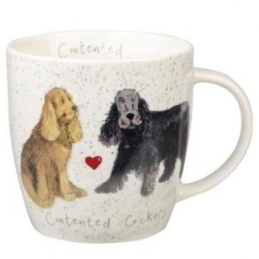Contented Cockers Mug