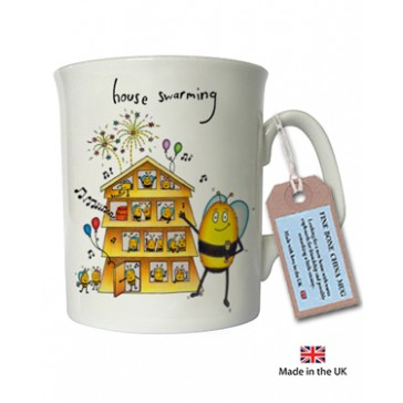 House Swarming China Mug - Compost Heap