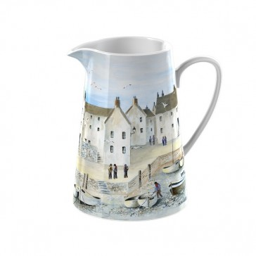 Small Ceramic Cornish Harbor Jug by Creative Tops.