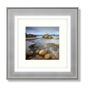 Cutting Through framed Print by Adam Burton