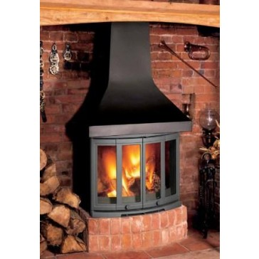 Dovre 2400 with canopy