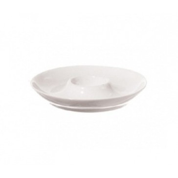 White Ceramic Egg Dish