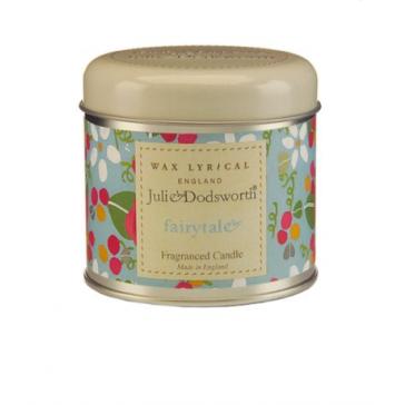 Julie Dodsworth Fairytale Candle Tin by Wax Lyrical