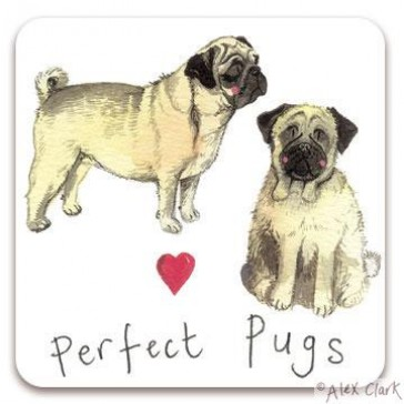 Alex Clark Perfect Pugs Magnet