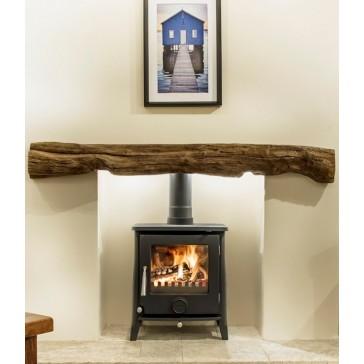 Newman Fireplace Fowey Oak Effect Stone Beam