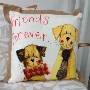 Alex Clark Freinds Forever Cushion