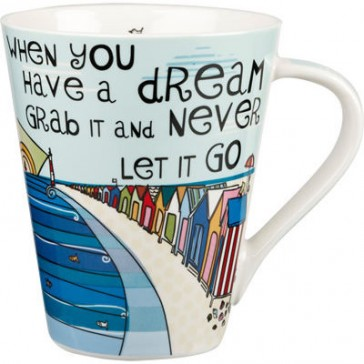 The Good Life 'Grab a Dream' Flight Mug