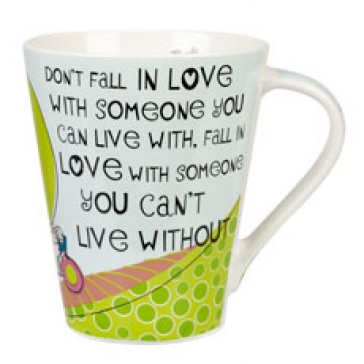 The Good Life Can't Live Without Flight Mug