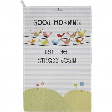 Good Life - Good Morning - 100% Cotton Tea towel
