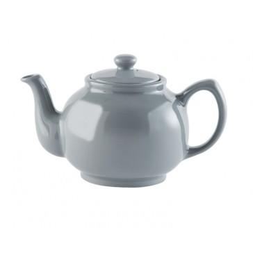 Grey Stoneware 6 cup Teapot