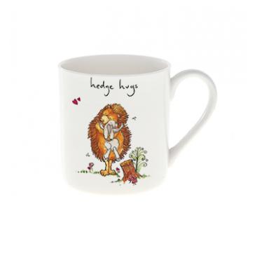 Hedge Hugs Fine China Mug