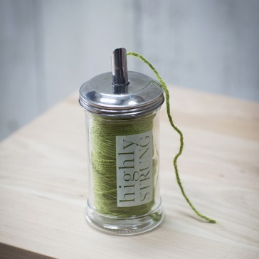 Highly Strung Jar - Green String