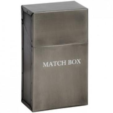 Antique Pewter Match Box