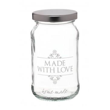 Made with Love Preserve Jar