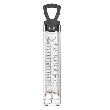 Stainless Steel Jam and Sugar Deluxe Cooking Thermometer