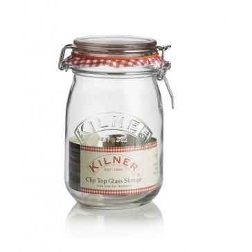 Kilner 1 Litre Clip Top Preserving Jar