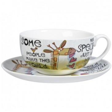 Special People Cappucino Cup & saucer by Churchill China