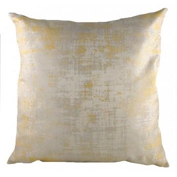Gold Holywood Cushion - 43cm square cushion