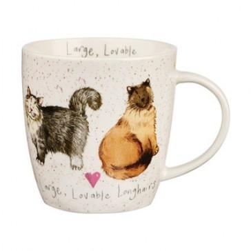 Large, Lovable Longhairs Mug