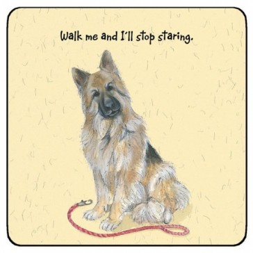 The Little Dog Louis Coaster