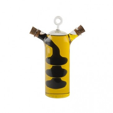 Creative Tops glass oil and vinegar bottle with cork stoppers