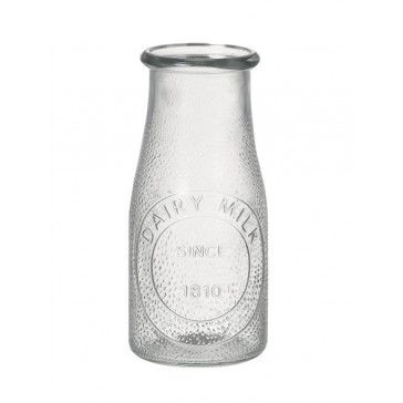 Traditional Glass Milk Bottle