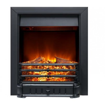 Normanton all Black Electric Fire