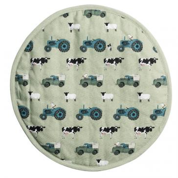 Sophie Allport On the Farm Hob Cover - 38cm diameter