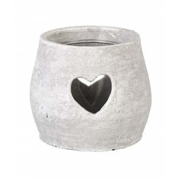 Parlane Amara Small Tealight Holder made from clay